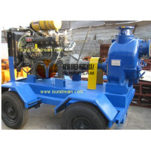 Mobile Self Priming Sludge Pump (4 inch to 12 inch)
