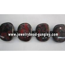 Hermosas perlas cerámica por mayor