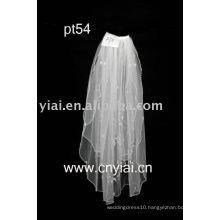 2010 new design elgant beaded wedding veil