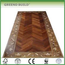 Piso de madera del piso del azulejo de piso del tamaño grande
