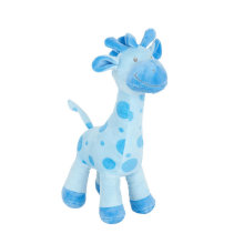 Cute Blue Plush Giraffe Soft Toy Stuffed Animal Toy for Kids