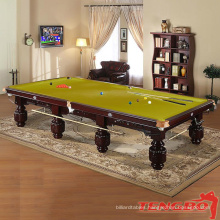 Customized pool table size games play snooker table for sale