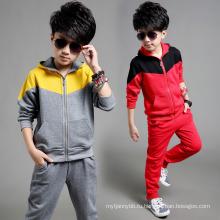 2016 Оптовая мода горячие продажи спортивный костюм для мальчика