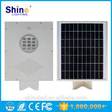 Luz de calle solar al aire libre de alta luminancia 12W