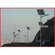 Солнечные стальные фонарные столбы