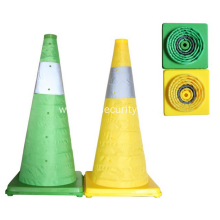 Collapsible traffic cone /safety road cone LED light