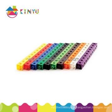 Brinquedos educativos da matemática plástica para a criança (K002)