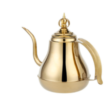 High Quality 1.5L/2.0L Gold Stainless Steel  Tea Water /Hotal Kettle / Drip Coffee Kettle