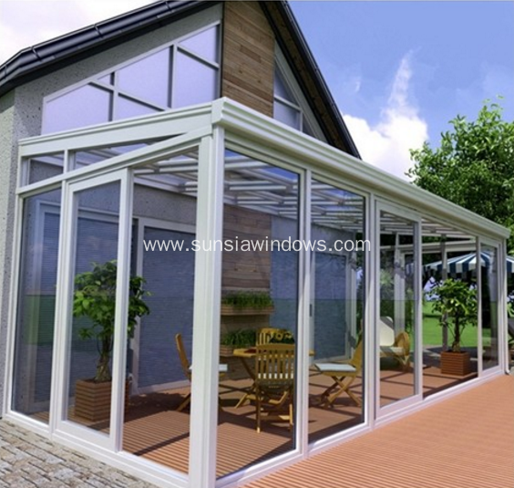 Aluminum Sunroom for Swimming Pool,Garden,Villa