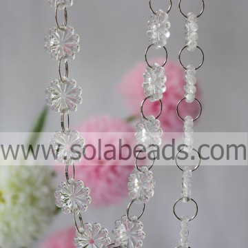 Hot Sale 20mm Crystal Perlen String Garland