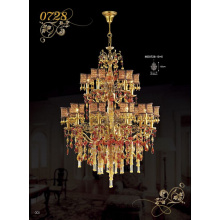 Luxury Decorative Hotel Crystal Chandelier Pendants (MD0728-10+5)