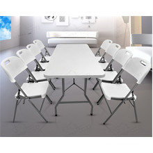 8ft Plastic Banquet Folding Table for Events