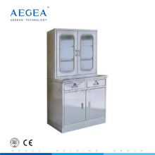 AG-SS039 medical store stainless steel cabinet hospital cupboard