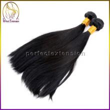 Шелковистая прямая волна 100 процентов девственных европейские волосы