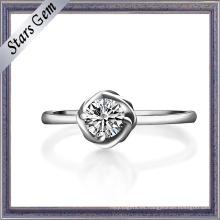 Anillo de plata esterlina 925 de la decoración femenina
