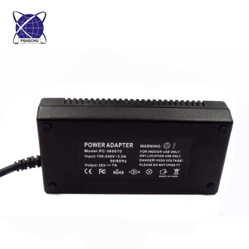 36v 7a 250w medical led switching power supply