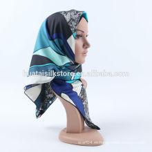 100 bufanda de seda 2014 nuevo diseño abaya vendiendo hijab