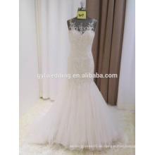 Schatz Backless Kristall Beadings Nach Maß formale Brautkleider Design Robe De Mariee Meerjungfrau Brautkleider 2016 15017