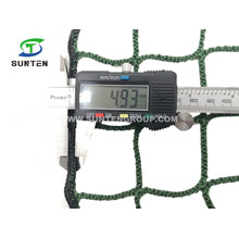 Factory Machining Customized Raschel Navy Green Color Polyester Knotless Cargo/Container/Fall Arrest/Safety Catch Net/Netting/Nets