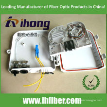 FTTH Caixa de distribuição óptica do divisor 2 * 8 porto