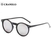 Round vintage mirror lens sunglasses Cat 3 UV400