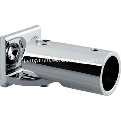 wall mounted tube connector