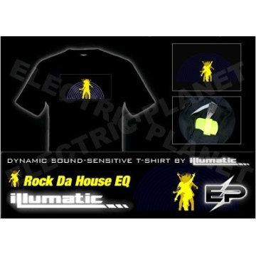 [Stunningly]Wholesale fashion hot sale el T-shirt A104,el t-shirt,led t-shirt