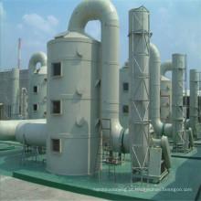 Torre de purificação de FRP, torre de desodorização para processo de dessulfurização de gases de combustão