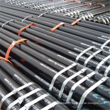 standard sizes black seamless steel pipe hot selling pipe