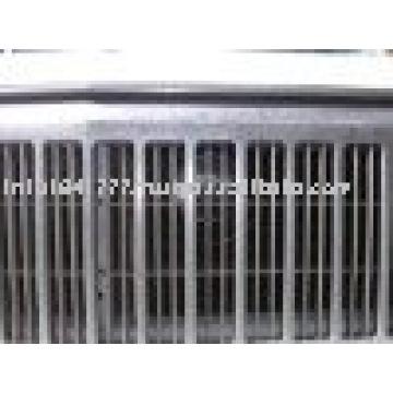 Sección de aluminio para parrilla de aire acondicionado