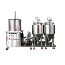 China manufacturer home beer brewing equipment 50L 100l microbrewery