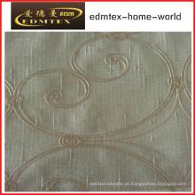 Moda Bordado Organza cortina tecido EDM2031