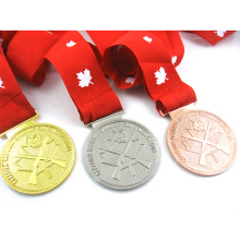High quality lavigifts High quality gold silver bronze production metal award medal