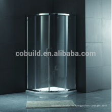 K-552 cheaper china sanitary ware supplier hotel bathroom furniture shower room wirh frame bathroom shower enclosure