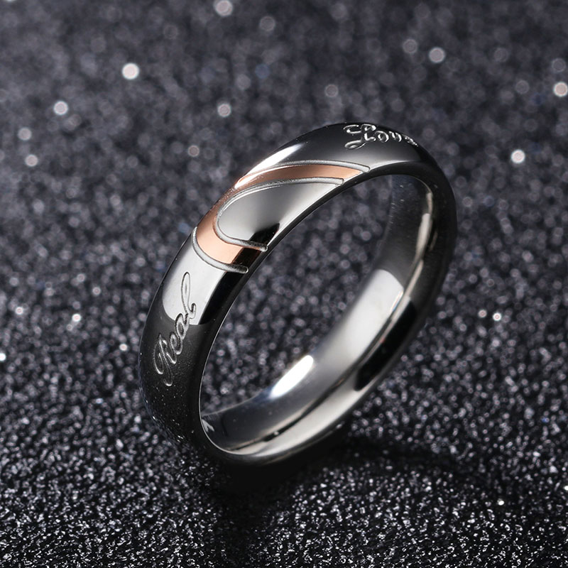 Stainless Steel Ring Set