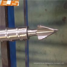 inyección de plástico tornillo y barril de PET PVC PE