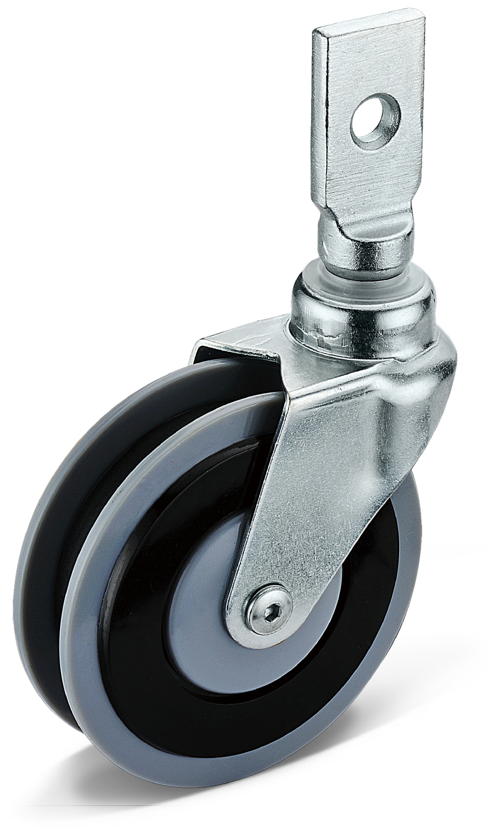 PU Square Socket Casters