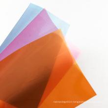 Muti-color A4 Size Rigid PP Plastic polypropylene Sheet