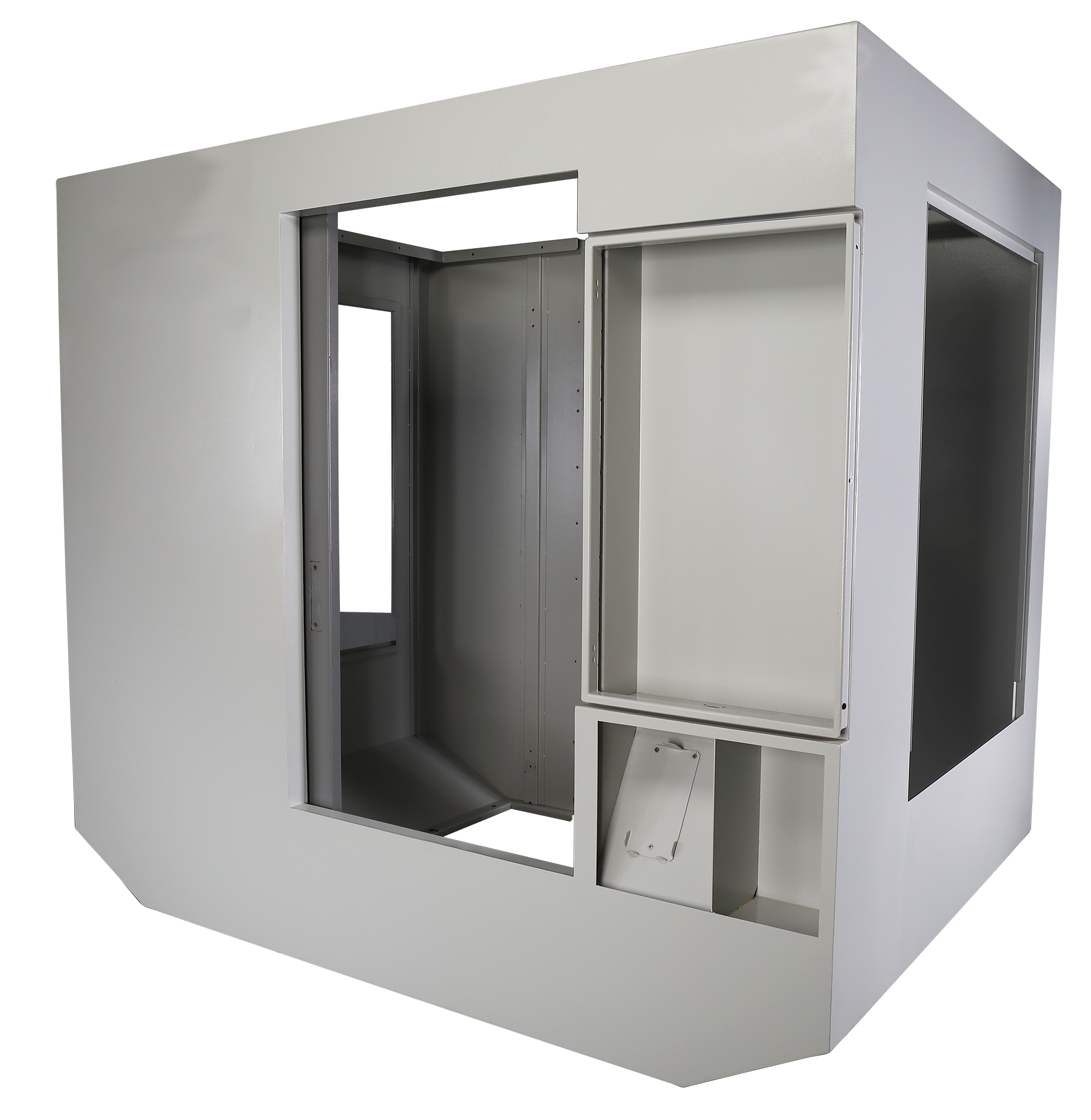 Matrix cabinet for storing telecommunication equipment