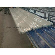 Hoja FRP, hojas de plástico corrugado para techos
