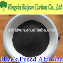 fuente de la fábrica 120mesh fundido negro polvo de alúmina para pulir y pulir