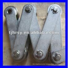 Cadena de rodillos transportadores Pitch 125mm