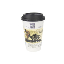 Top Sale Factory Sale Disposable Paper Coffee Cups Custom paper hot cups wholesale
