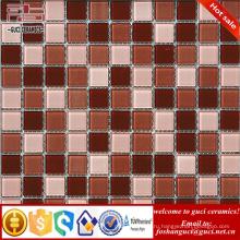 Производство Китай 2017 смешанный Цвет квадратной формы мозаика стеклянные плитки