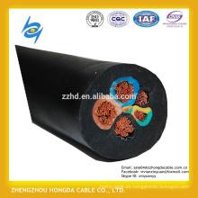 H07RN-F Cables flexibles de envoltura de goma multinúcleo con IEC 60245