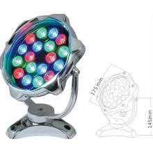 Lumière sous-marine ronde de la forme 36W LED LED