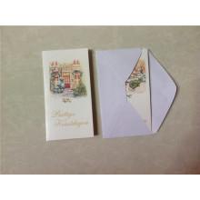 Рождественские поздравительные открытки с конвертной / музыкальной поздравительной открыткой с конвертом