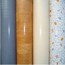 Patrón de madera interior del suelo del PVC de 2m * 30m * 1.0mm