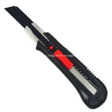 Пластиковый безопасный нож с отламывающимся лезвием 18 мм