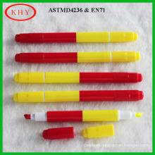 Colored ink mini dual tips led board chalk marker for promotion